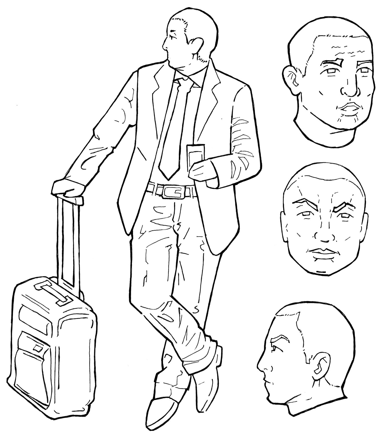 Character design for Jack
