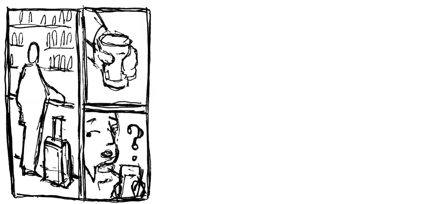 Final thumbnails for a script page