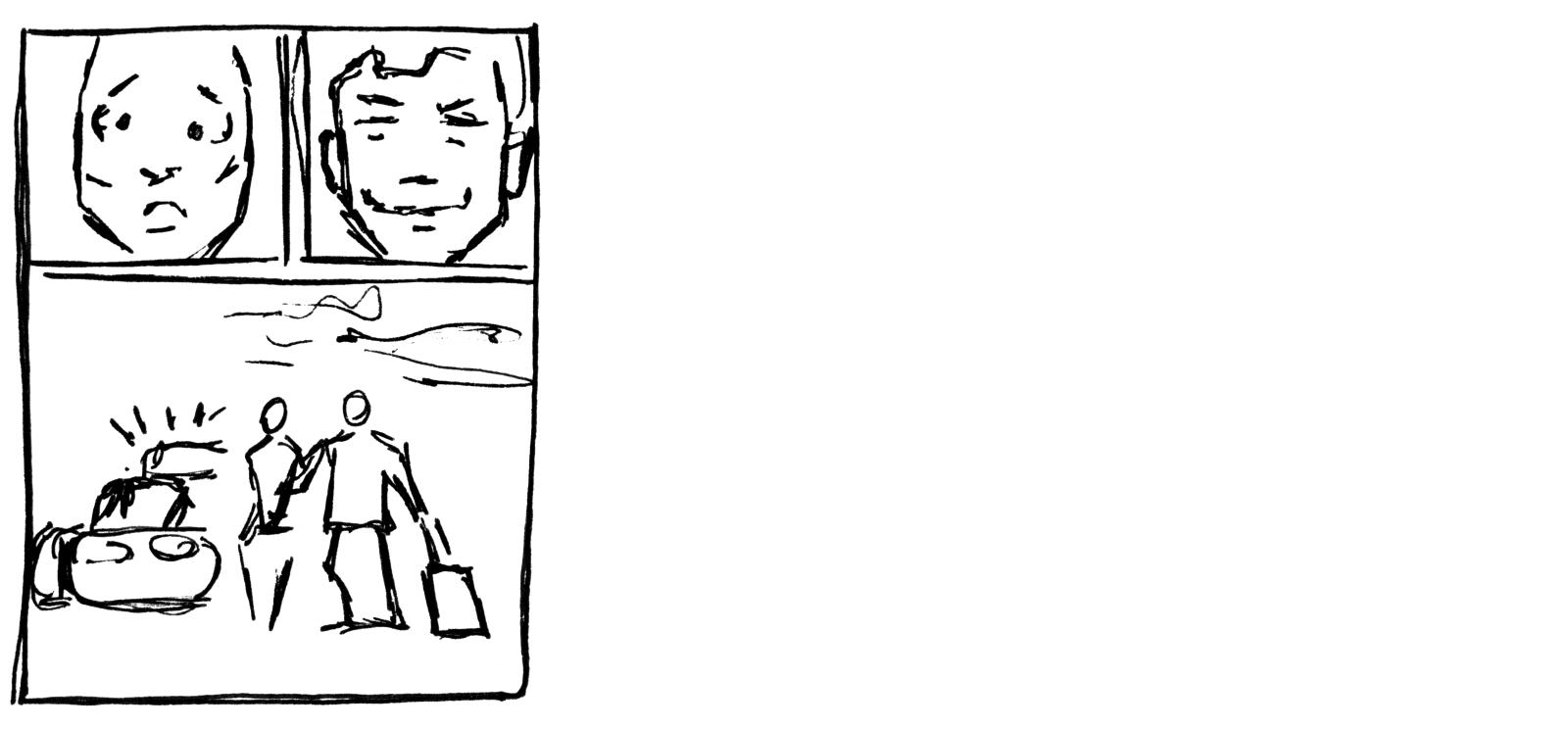Final thumbnails for a script page