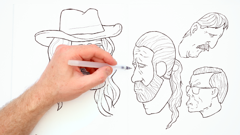 Slide image for the Cartoonify Faces | A Demonstration YouTube video
