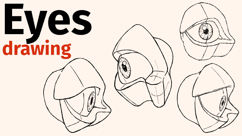 How To Draw Eyes In Any Orientation, And On Daily Drawing Habits And Comparing Yourself To Other Artists
