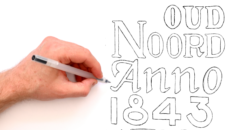 Slide image for the How To Draw Typography   Why Hand Lettering Practice Makes You A Better Artist YouTube video