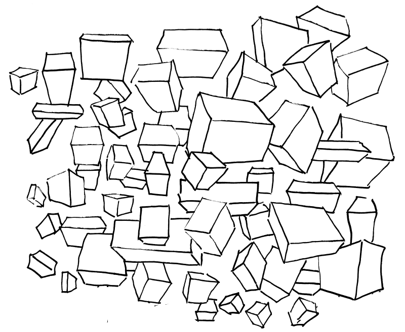 Draw perspective-correct boxes in many arbitrary orientations.