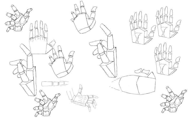 Slide image for the simplify hands exercise